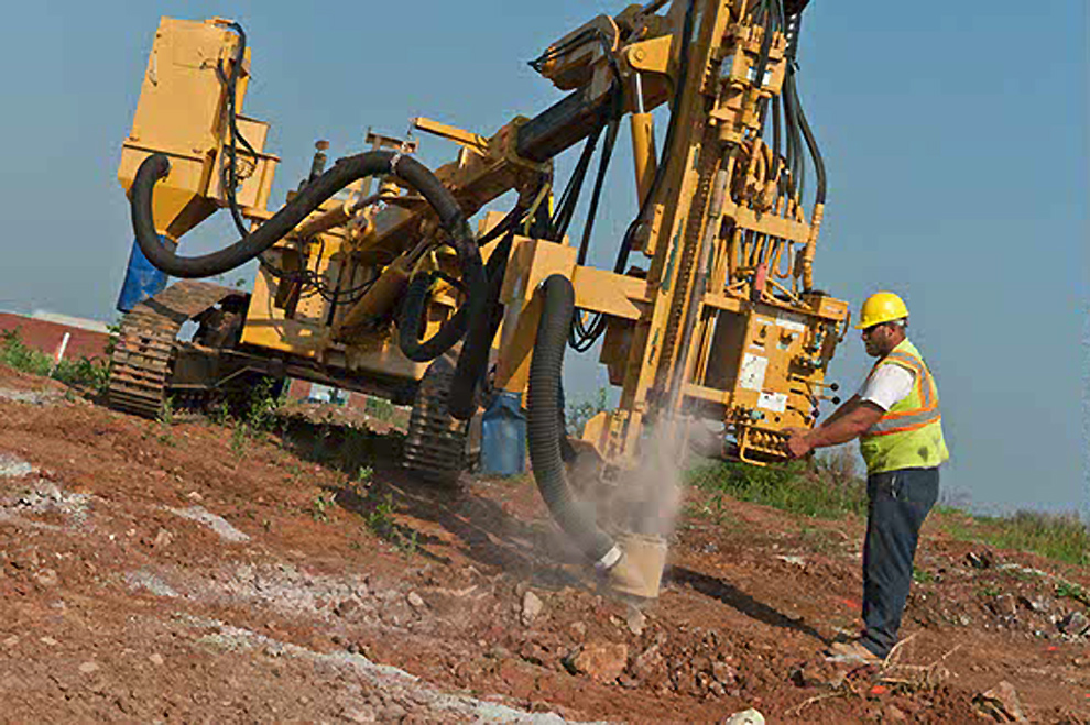 Rock Blasting Safety : Drilling blasting and hammering in frederick maryland
